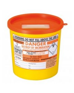 Sharps Container 2.5 Litre